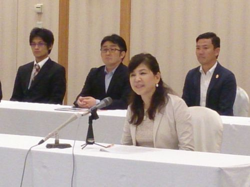 WISやまぐち(女性創業応援やまぐち株式会社)による支援対象案件の決定記者会見が行われました。