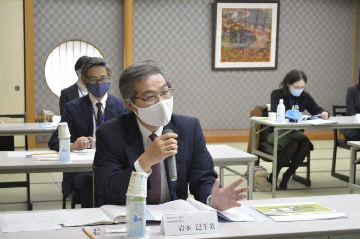 株式会社山口銀行 地域振興部 部長 岩本己千英 氏